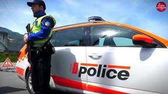 La Police cantonale valaisanne a mené un exercice antiterroriste dans le Chablais