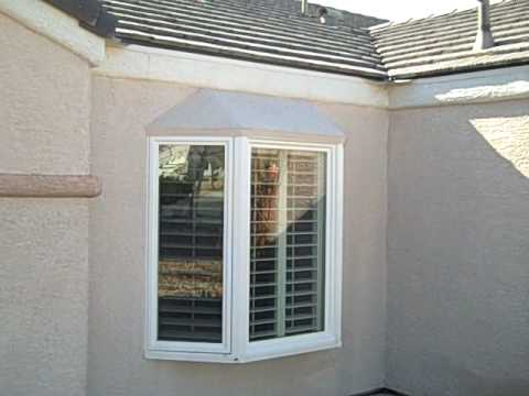 Bay Window Stucco Application Youtube