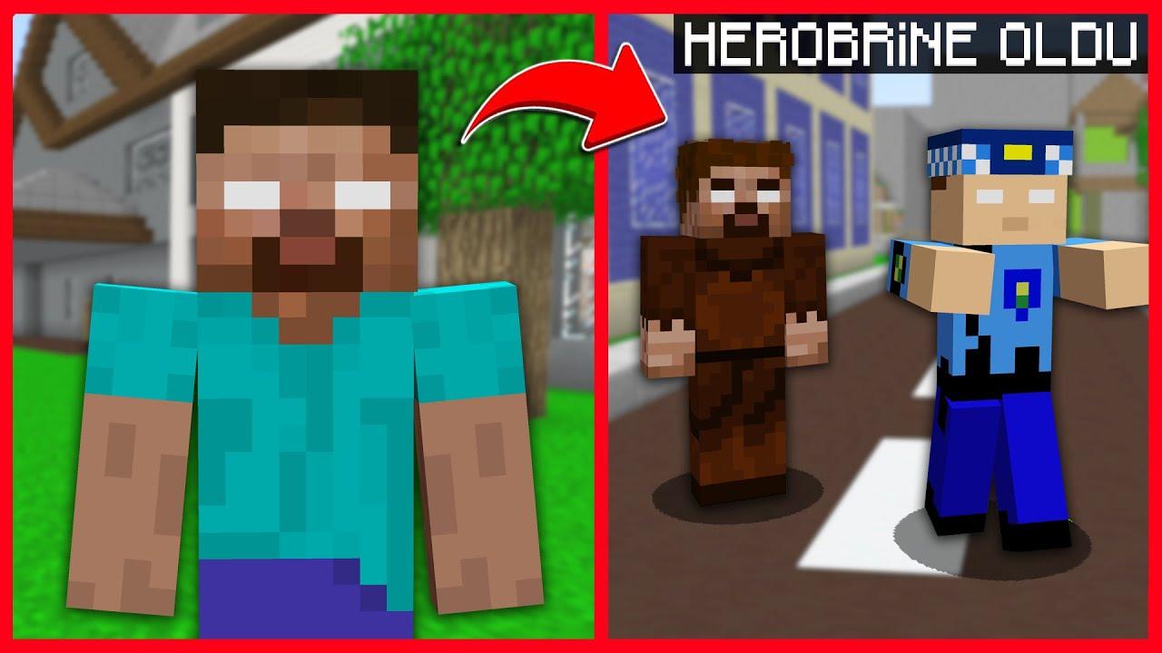 FAKİR KEREM KOMİSERİ HEROBRİNE YAPTI! 😱 – Minecraft ZENGİN FAKİR HAYATI