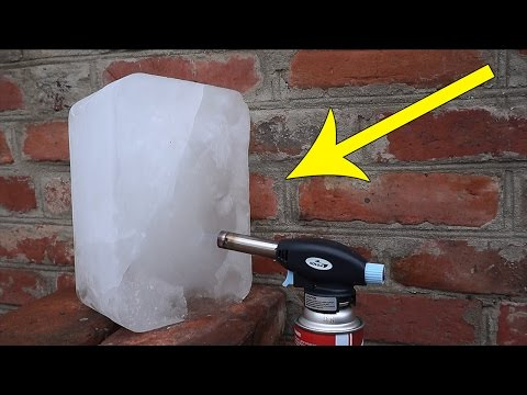 Thumbnail: ICE vs GAS TORCH