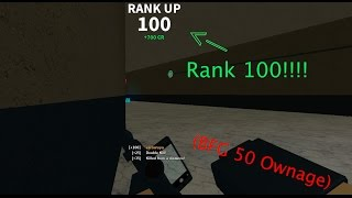 Roblox Phantom Forces - Rank 100 (BFG 50 Ownage)