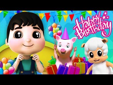 Alles Gute zum Geburtstag Lied | Reime für Kinder | Happy Birthday Song