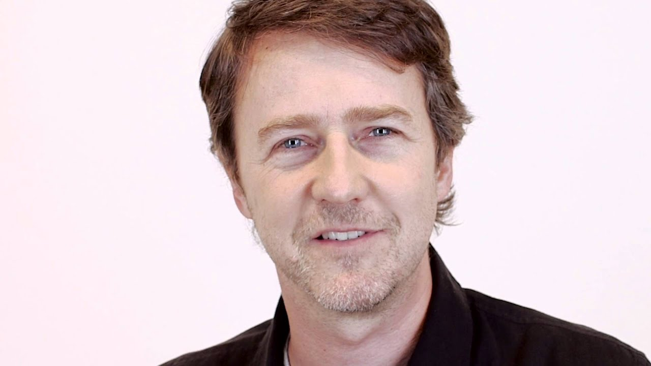 Actor Edward Norton