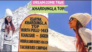 Leh to Khardungla Vlog | Diskit Gompa | Nubra Valley 2019