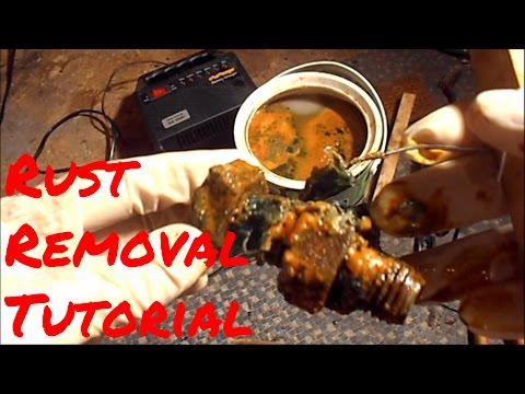 Rust removal tutorial
