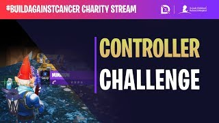 Fortnite - Controller Challenge! - #BuildAgainstCancer | DrLupo