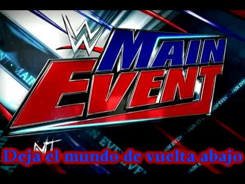 Wwe Main Event Logo