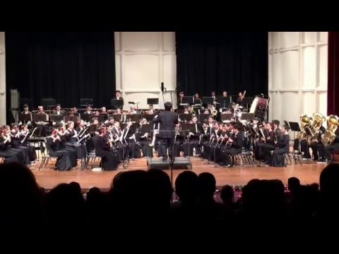 "Moanalua High School Symphonic Wind Ensemble performing ""Sleigh Ride"" by Leroy Anderson"