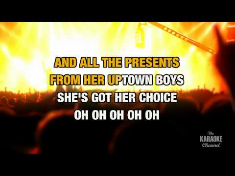 Uptown Girl in the Style of