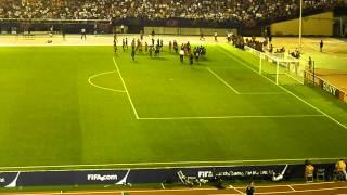 After the match. FIFA Women's football World Cup Japan 2012 Semi Fi...