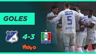 Millonarios vs. Once Caldas (4-3) | Liga BetPlay Dimayor 2021-1 - Fecha 3