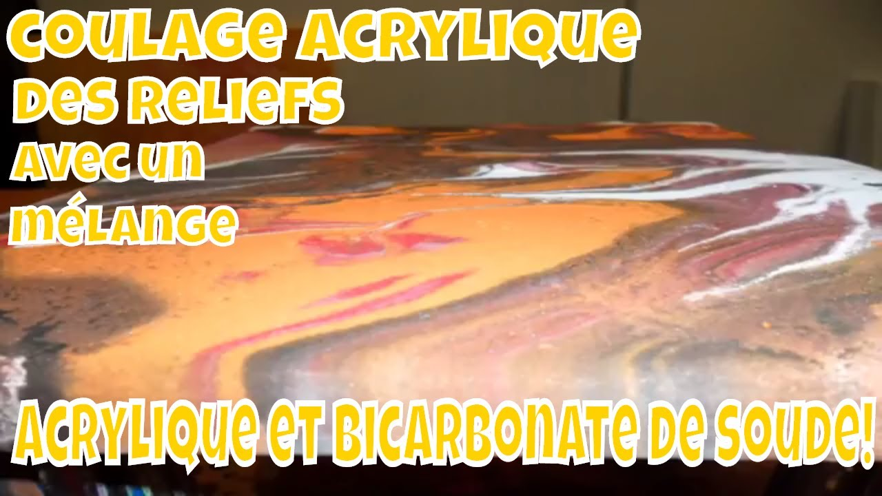 Acrylique et bicarbonate de soude un mariage au r sultat - Bicarbonate de soude deboucher evier ...