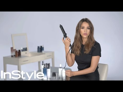 Jessica Alba's Beach Waves Tutorial