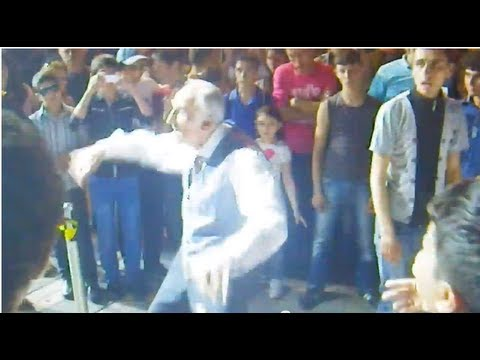Oppa Grandpa Style In Yerevan