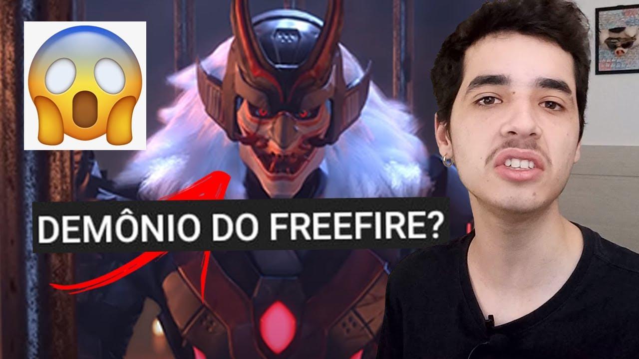 free fire é jogo do DIABO