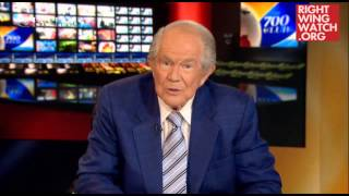 RWW News: Pat Robertson Thinks Leviticus Applies Only To Gays