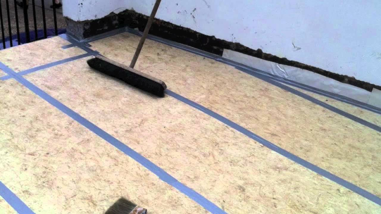 Kemperol V210 Flat Roof Pinner With Insulation Decking And