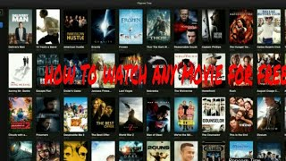 How to watch movies for free without hack 100%real
