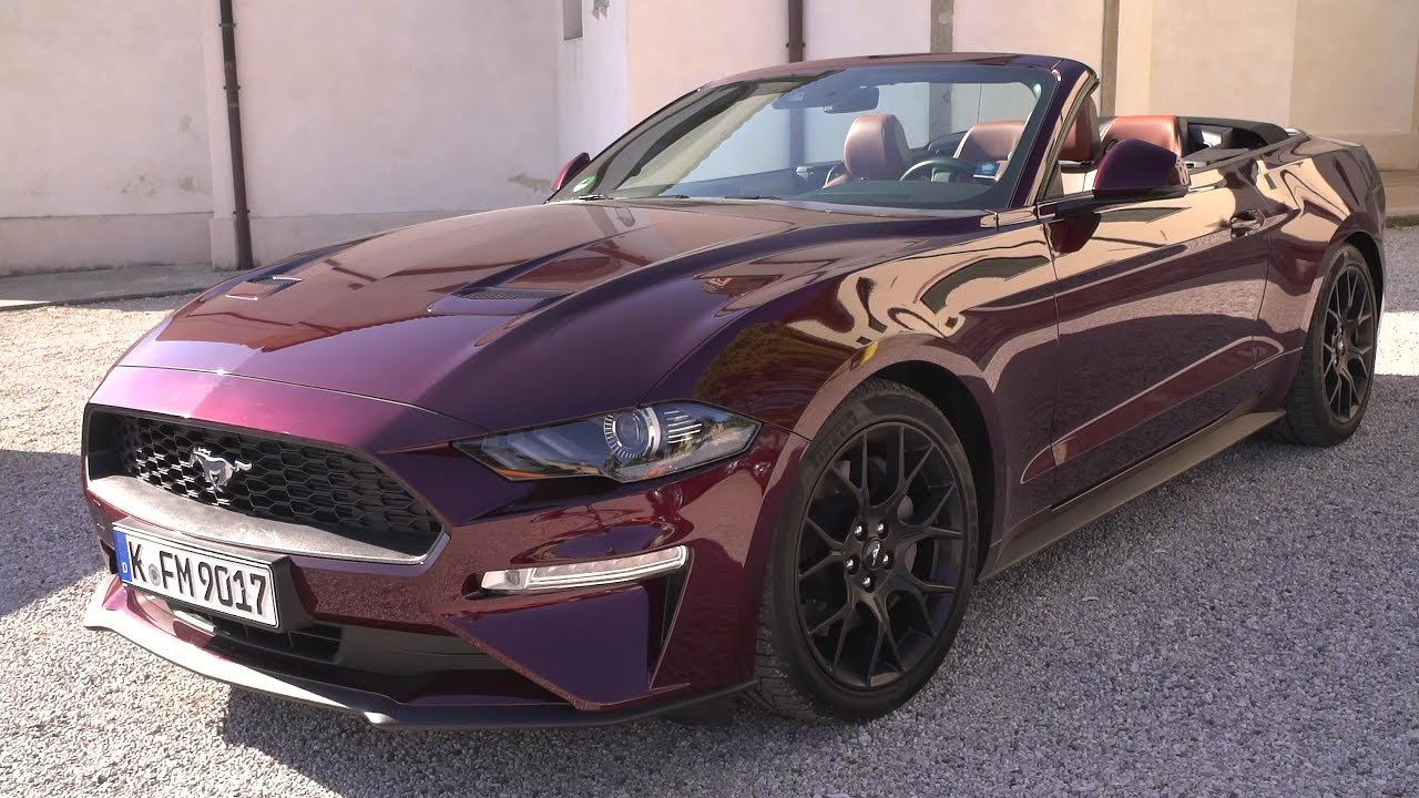 2019 ford mustang driving experience