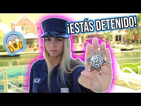 LIGANDO A UNA POLICIA SEXY CON FRASES DE MEMES