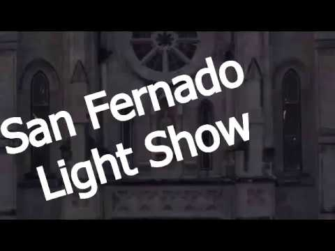 San Fernando Cathedral after Dark Light Show