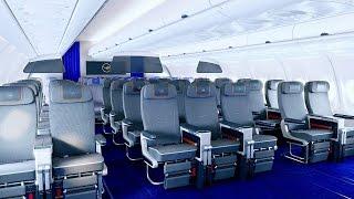 The new Lufthansa Premium Economy Class