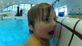 Zwarte Piet ging uit zwemmen