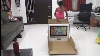 NO VIDEOS?? | UNBOXING IMAC| Update vlog TAMIL