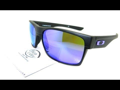 Óculos de Sol Oakley Twoface Violet Iridium 9189 08 60 Espelhado ... 955fef638e
