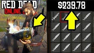 NEW MONEY MAKING METHOD in Red Dead Online! Easy Fast Money in RDR2 Online Fishing!
