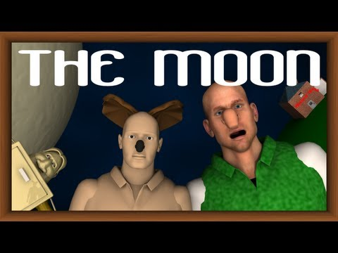 """Weslace and Zromitman in: """"The Moon"""""""
