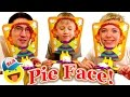 PIE FACE CHALLENGE!!! Messy Whipped Cream in the FACE Game! Челлендж Взбитые сливки в лицо