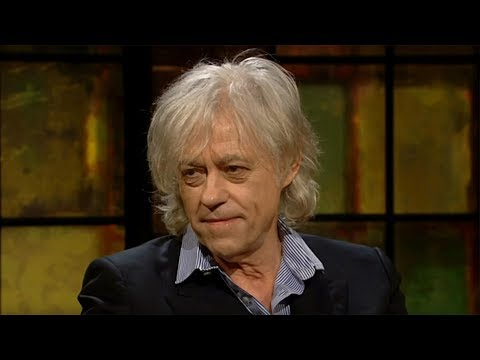 """I don't want to be associated with this Pig"" - Bob Geldof 