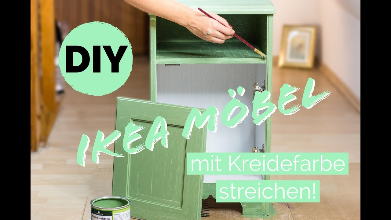 ikea hack ikea m bel umgestalten kommode aufpeppen m bel streichen youtube. Black Bedroom Furniture Sets. Home Design Ideas