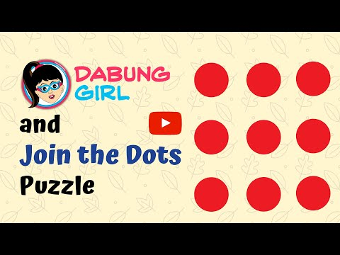 🤔 Can you join 9 dots without lifting pen? Join the nine dots riddle | 9 Dots 4 lines Solution