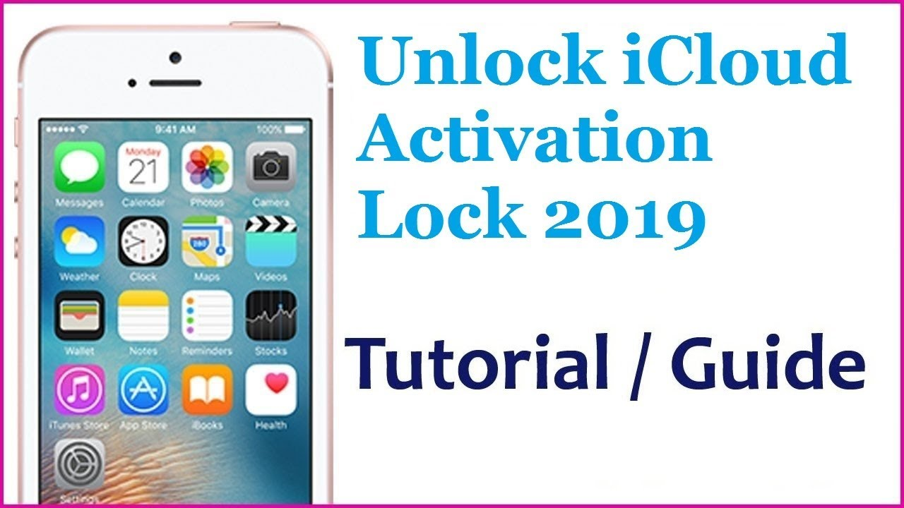 How To Unlock iCloud on any iPhone Without Apple ID iCloud Activation  Bypass 2019