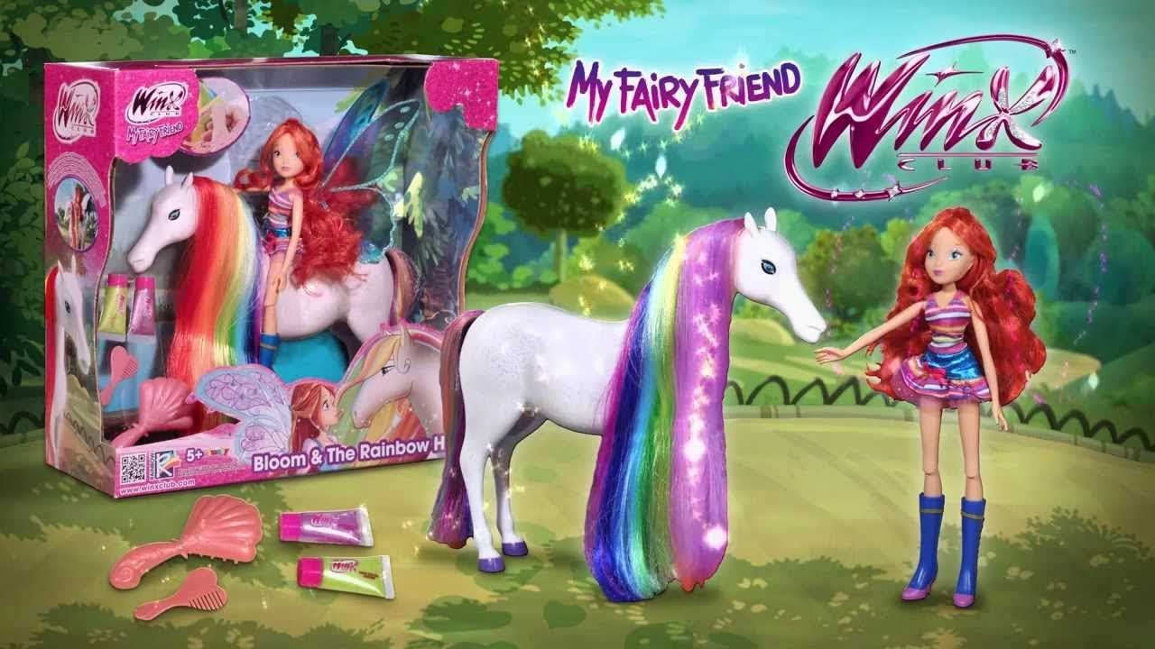 Winx Club Bloom Amp The Rainbow Horse Doll Review