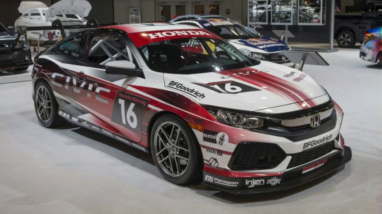Good Looking 2017 Honda Civic Coupe Racing Concept