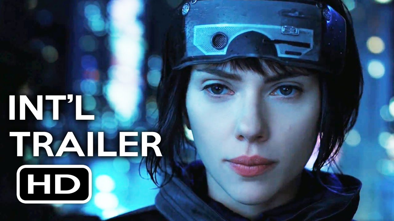 Ghost In The Shell Official International Trailer 1 2017 Scarlett Johansson Action Movie Hd Youtube