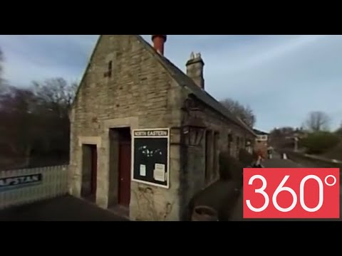 360 degree  - Beamish open air museum - Railway #Beamish360