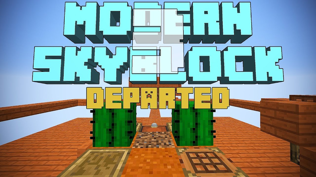 Modern Skyblock 3 Departed 1 12 2 - Minecraft11 com