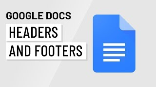 Google Docs: Headers and Footers