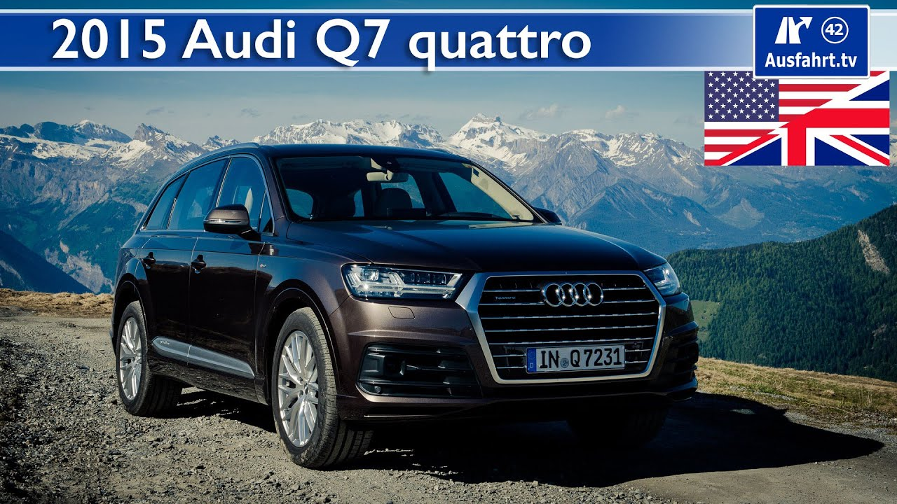 Audi q7 3 0 tdi s line - 2015 Audi Q7 3 0 Tdi Quattro Tiptronic Test Test Drive And In Depth Car Review English Youtube