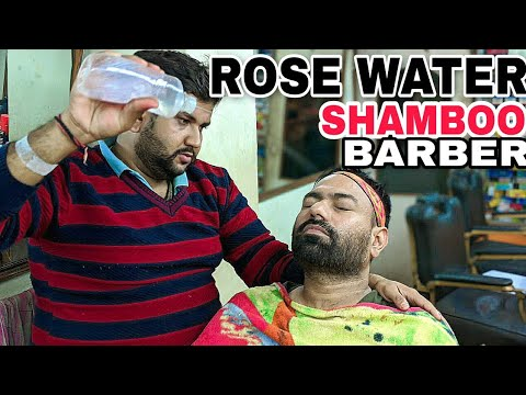 Dead Skin Removel Thread Face massage therapy by Shamboo Barber | ASMR | Indianbarber | Ear Massage