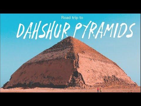 The roadtrip to Dahshur Pyramids - Travel Vlog Egypt