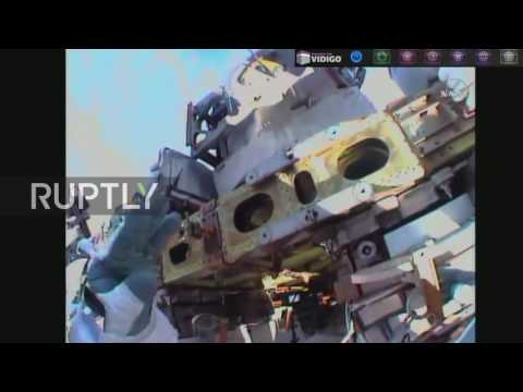 ISS: Expedition 48 astronauts conduct spacewalk