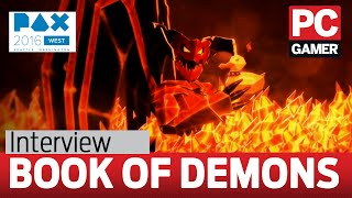 Book of Demons interview - a deck building Diablo in its purest form