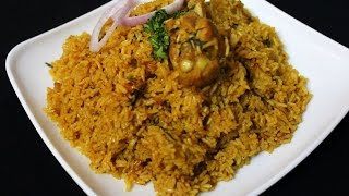 chicken pulao hyderabadi style