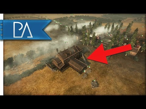 Battle Comes Down To One Building - Napoleonic Total War 3