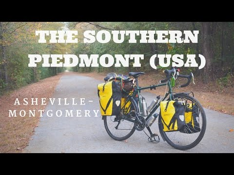 Bicycle Touring: The Southern US Piedmont